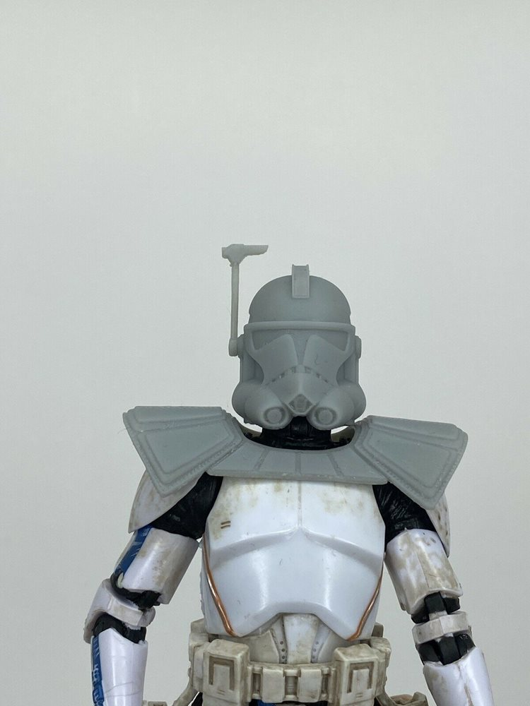 Custom Star Wars Black series Arc Trooper Pauldron And Ammo Mag