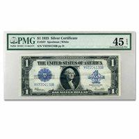 1923 $1.00 Silver Certificate XF-45 PMG - SKU#97827