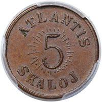 1933 Atlantis 5Sk MS63 BN [PCGS Gold Shield]