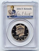 1999 S Clad Kennedy Half Dollar PR69 Deep Cameo with Commemorative Label PCGS