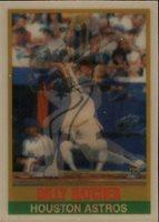 1989 Sportflics Baseball Card 174 Billy Hatcher Mint