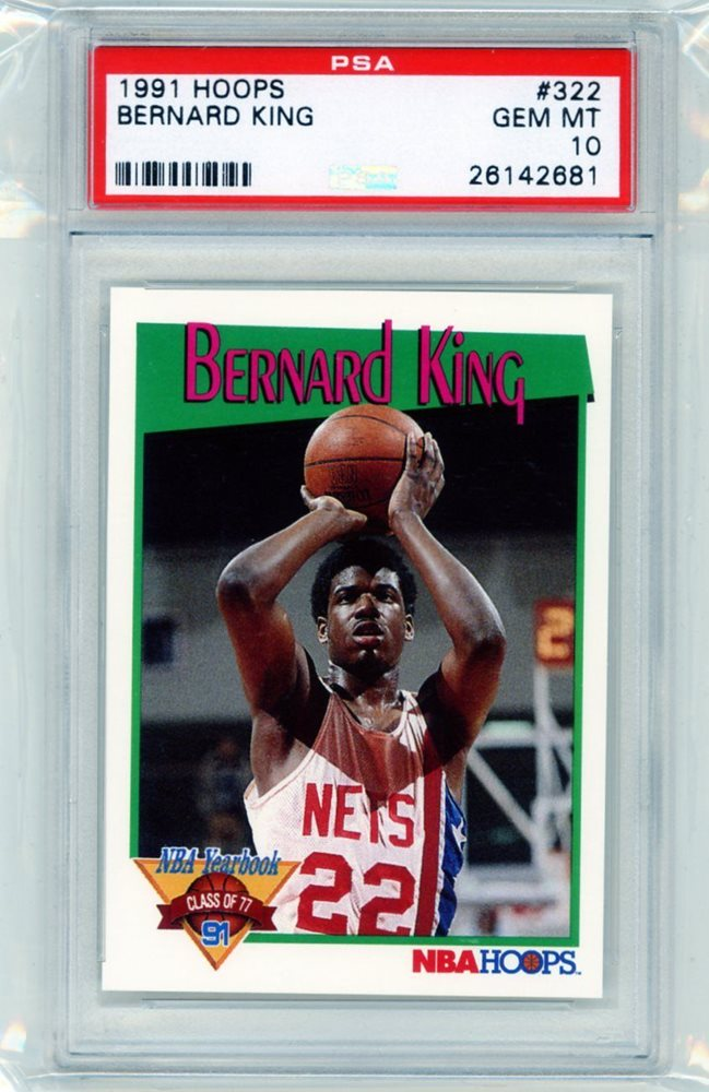 auction prices realized basketball cards 1991 hoops