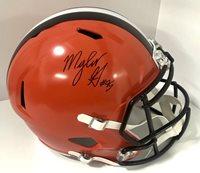 Myles Garrett Autographed Signed Cleveland Browns Full f2ef51d7b