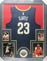 e3618a2f4c3 ANTHONY DAVIS Pelicans Signed Autographed Framed Basketball Jersey CoA