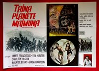 BENEATH THE PLANET OF THE APES Movie POSTER 27x40 D James Franciscus Kim Hunter