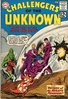 CHALLENGERS OF THE UNKNOWN / Issue #25 VG+ DC