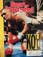Mike Tyson Unsigned Sports Illustrated February 19 1990
