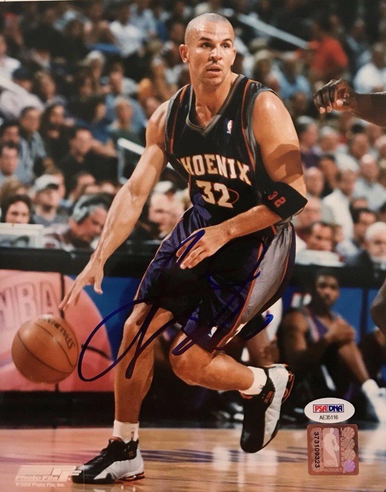 size 40 b4c2c 08bb5 Jason Kidd Autographed Signed New Jersey Nets 8x10 Photo PSA/DNA SunsCUSTOM  FRAME YOUR JERSEY