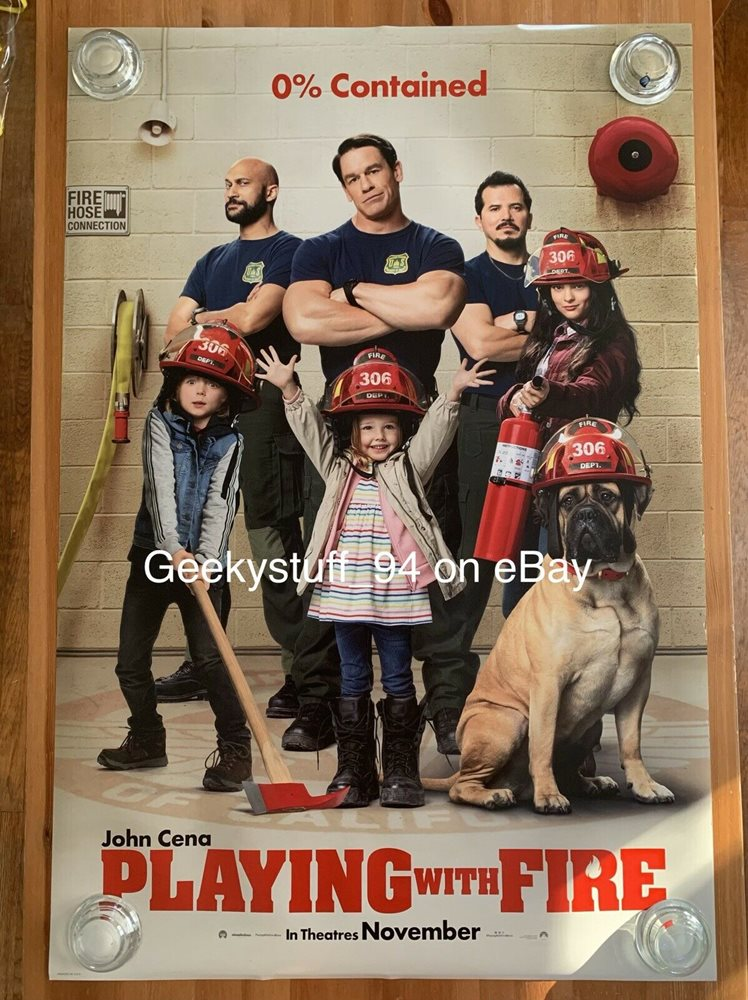 Playing With Fire Ds Theatrical Movie Poster 27x40