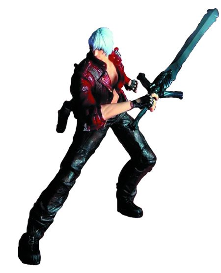 "SQUARE ENIX Play Arts KAI Devil May Cry 3 Dante PVC Action Figure 9.8/"" tall"