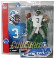 JOEY HARRINGTON WHITE VARIANT NFL Sports Pick McFarlane Football Figure Series 6