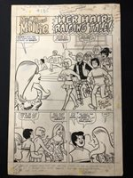 Mad About Millie #15 Page 1 Original Comic Art Issue | 1970