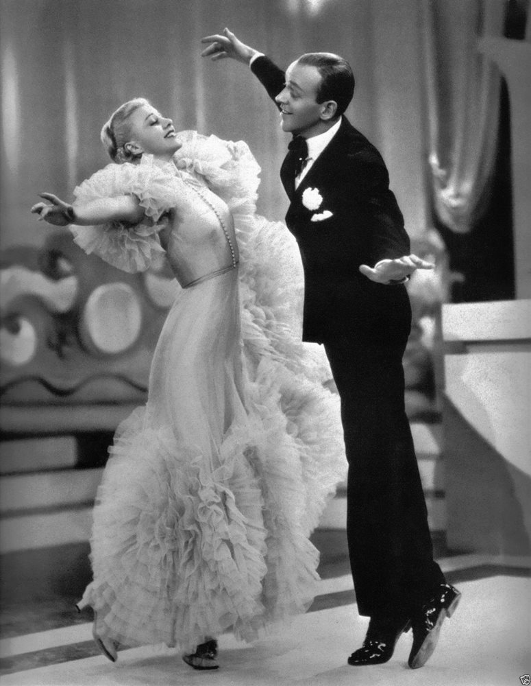Fred Astaire Ginger Rogers Dancing 8x10 Picture Celebri