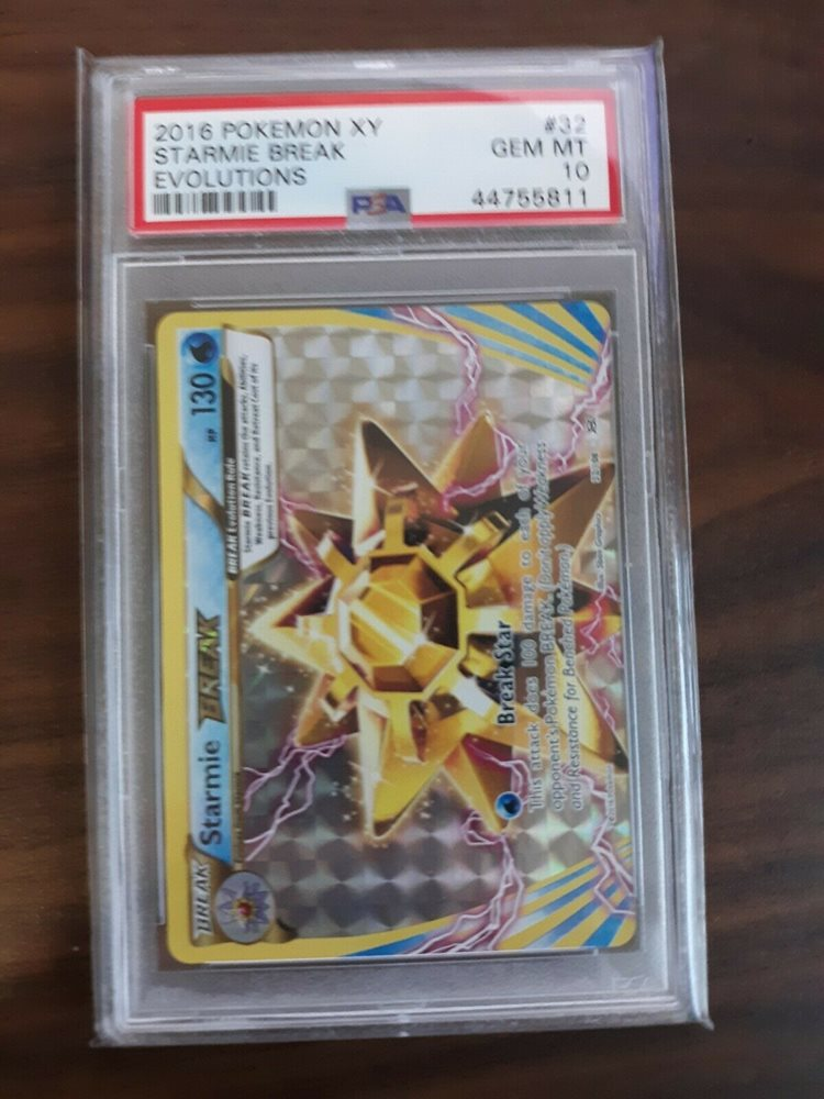 XY Evolutions Fast Free Shipping! Starmie Break 32//108