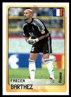 27 Fabien Barthez France No Panini World Cup Korea//Japan 2002