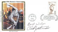 Chet Jastremski Autographed First Day Cover