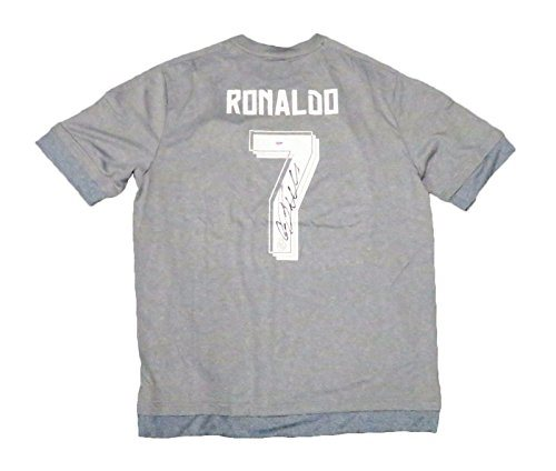 Cristiano Ronaldo Signed Real Madrid Jersey Psa Dna Gre