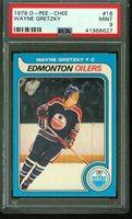 1979 O-Pee-Chee WAYNE GRETZKY Rookie Edmonton Oilers PSA 9