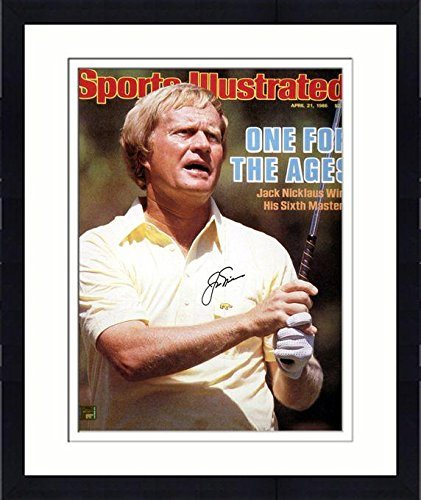 Jack Nicklaus Autographed 16 x 20 1986 Masters Victory Silver Ink Photograph Fanatics Authentic Certified
