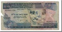 50 Birr 1976 Äthiopien Banknote, Km:33a