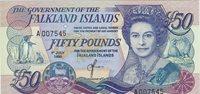 £50 1990 Falkland Islands