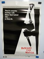 BEYOND THE WALLS Original Vintage Home Video Movie Poster