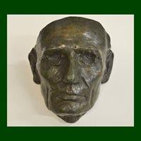 Leonard Volk, Abraham Lincoln Life Mask, Bocchetta-Cast