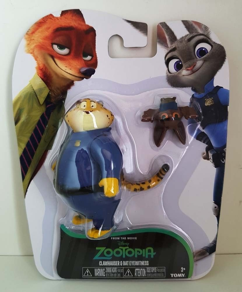 Zootopia Character Pack Clawhauser And Bat Eyewitness