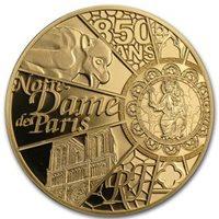 FRANCIA FRANCE MEDAL TO REBUILD NOTRE DAME DE PARIS CATHEDRAL 2019 @ RARE NEW