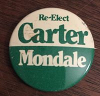 1980 PRESIDENTIAL CAMPAIGN BUTTON LOT Carter Mondale I'm For Ronald Reagan...