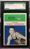 1961-62 Tommy Heinsohn Fleer RC Rookie #19 SGC 7 NM