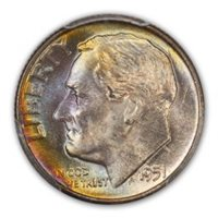Roosevelt Dime, 1951-D MS - PCGS Auction Prices