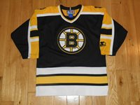 f8ac5a20b Vintage Starter BOSTON BRUINS Youth NHL Stitched Team Replica Hockey JERSEY  S M