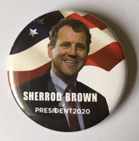 Sherrod Brown 2020 Presidential Hopeful Campaign Button (BROWN-705)