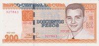 Cuba 200 Pesos 2020 Unc