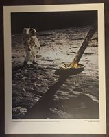 11x14 NASA Apollo 11 Photo Edwin Buzz Aldrin Tranquility Base 69-HC-681 Moonwalk