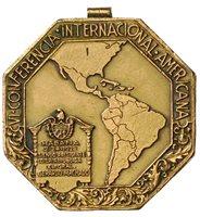 1928 Cuba VI Conferencia Internacional Americana Medal