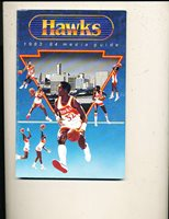 1983 - 1984 Atlanta Hawks NBA Media Press Guide nbamg1 b31
