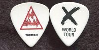 DEF LEPPARD 2003 X Tour Guitar Pick!!! custom concert stage Pick