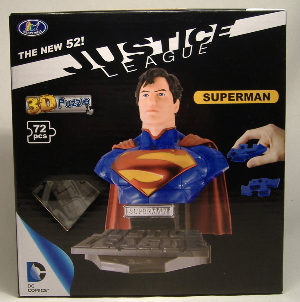 3 D Puzzle Superman Justice League Puzzles & Geduldspiele