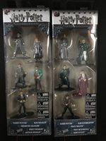 Free Ship Harry Potter Nano Metalfigs Box Sets A and B 10 figures New in Box!