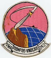 1950's United States Marine Corps VMA-242 Jacket Patch