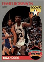 David Robinson Rookie Of The Year Card 1990 Nba Hoops