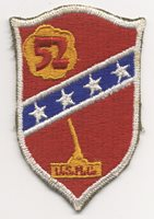 WWII US Marine Corps 52nd Defense Battalion Shoulder Patch