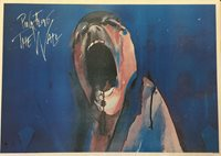 Pink Floyd The Wall Screaming Face 90s British Poster 23