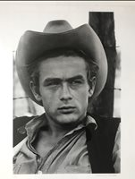 Photograph James Dean on the set of Giant, 1955 by Richard Miller Edition of 36