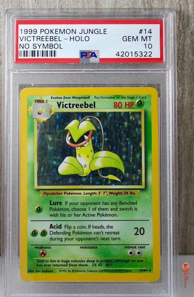 Victreebel 14//64 Jungle Set HOLO Rare Pokemon Card LP