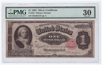 $1 1891 Silver Certificate FR 223 VF-30