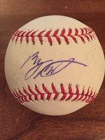 Byron Buxton Autographed Signed Rawlings Romlb Mlb Baseball Ball Twins Jsa Coa Baseball-mlb Wholesale Lots