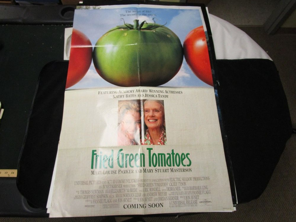 Posters FRIED GREEN TOMATOES Movie POSTER 27x40 B Kathy